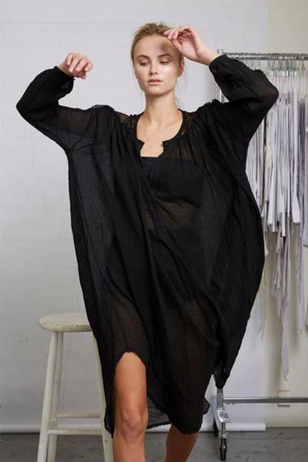 Heidi Merrick LUNA TUNIC - BLACK
