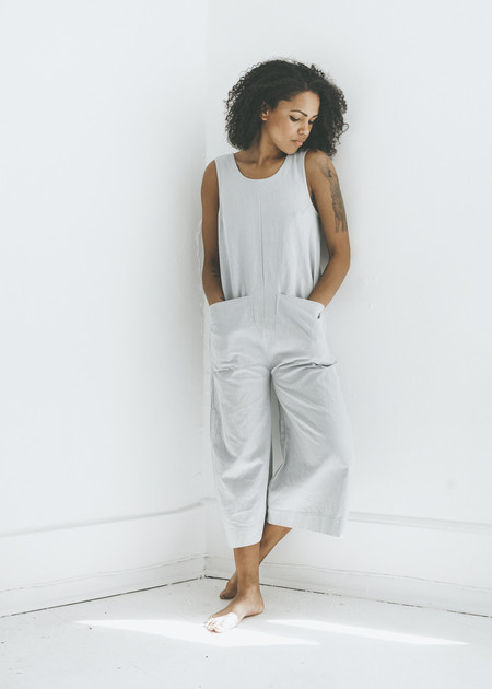 Ilana Kohn Milo Jumpsuit in Smoke
