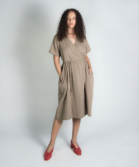 Wrk-Shp Summer Wrap Dress