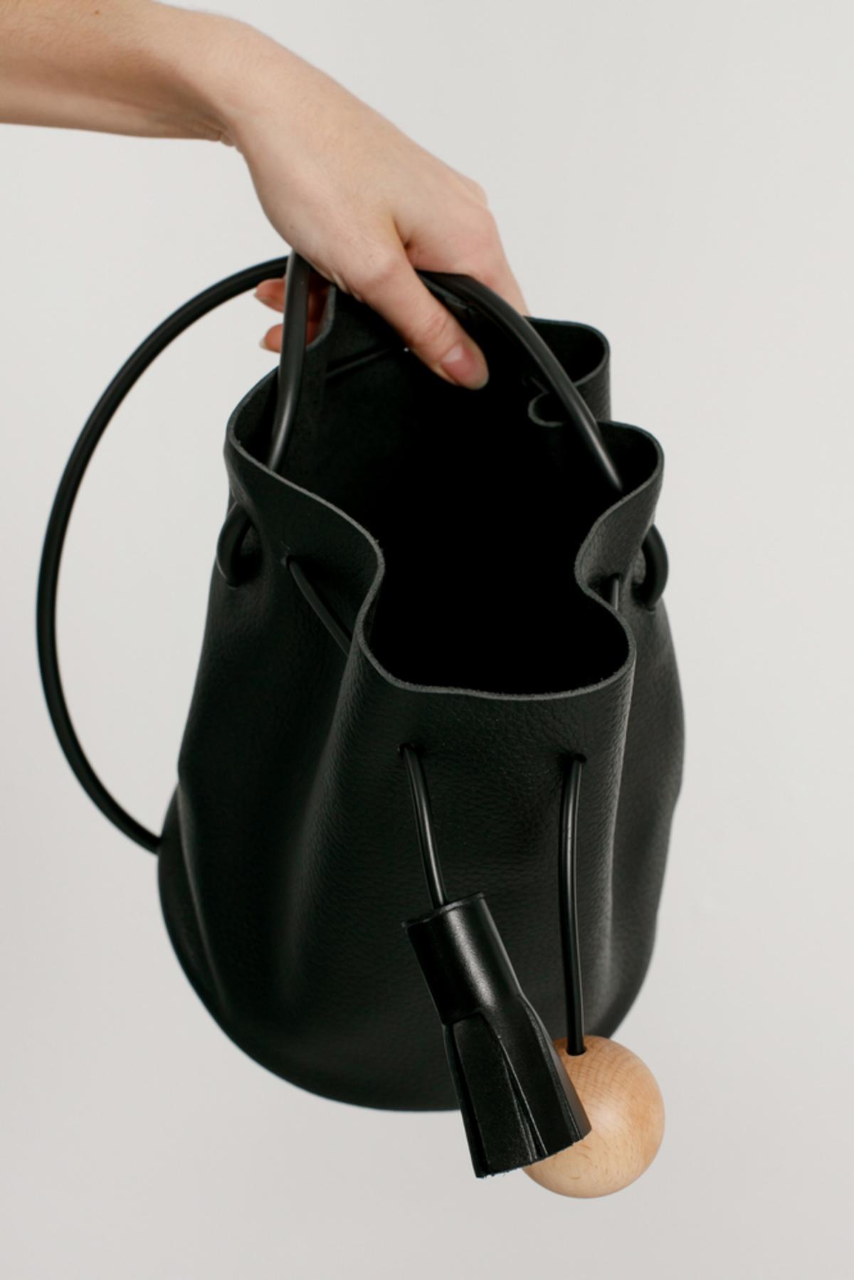 Building Block - Mini Bucket - Black