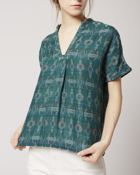 Ace & Jig Atwood top in emerald