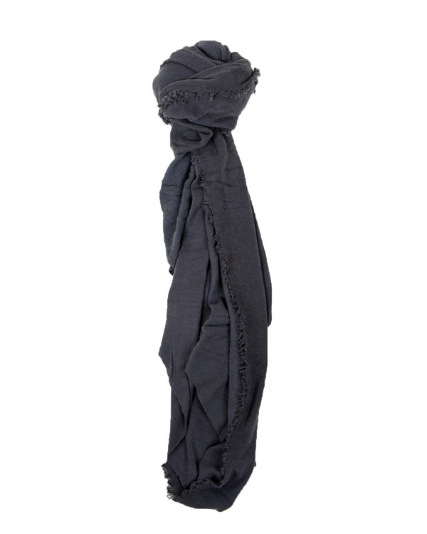 Grisal Le Tee 100% Cotton Scarf in Smoke