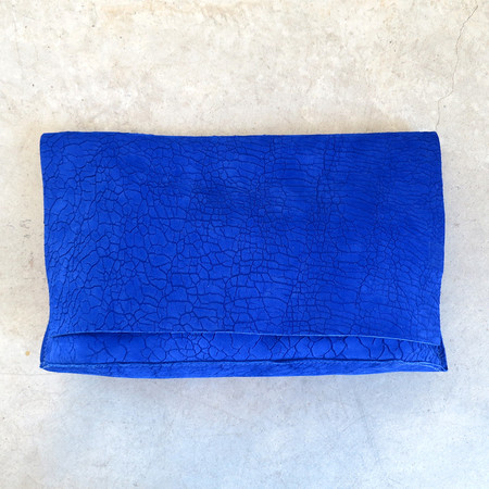 Tracey Tanner Carmen Clutch in Distress Cobalt