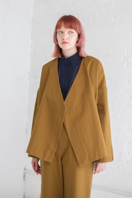 Studio Nicholson Cencio Jacket in Carob