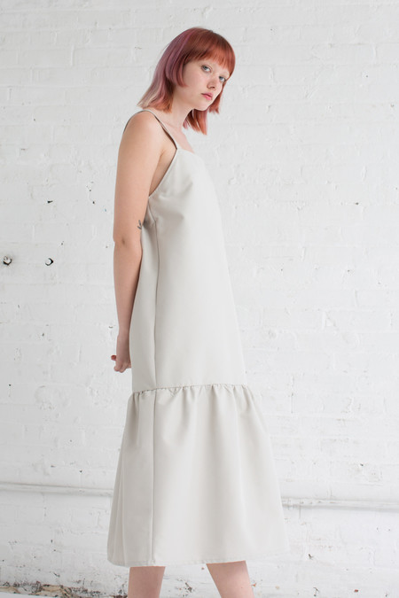 Delfina Balda OMS Dress in Ivory