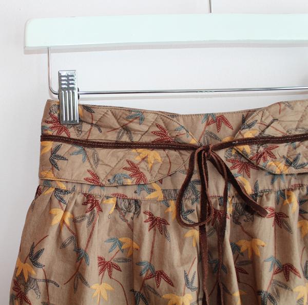Sessun Safari Ruffle Skirt