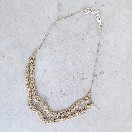 Arielle De Pinto Slink Necklace in Haze