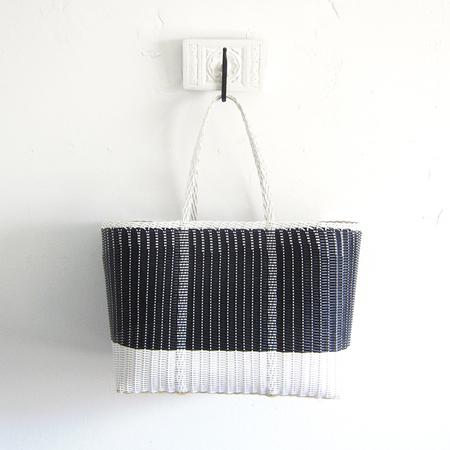 Palorosa Project large tote - black/white