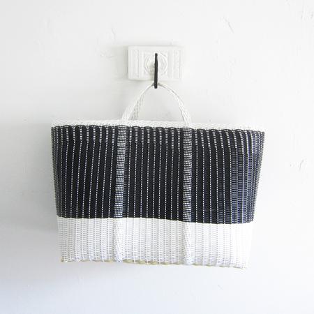 Palorosa Project x-large tote - black/white