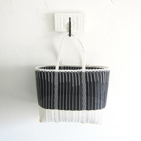 Palorosa Project small tote - black/white