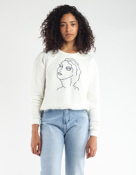Paloma Wool Guiri Sweatshirt Off White