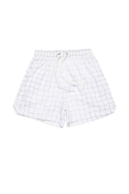Wonders Reflective Wave Grid Military Training Shorts