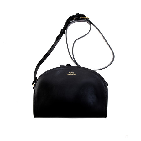 A.P.C. Sac Demi-Lune - Black