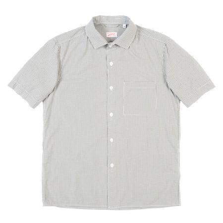 Arpenteur Pyjama Shirt - Olive Gingham