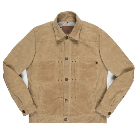 Freenote Cloth Freenote Riders Jacket - Tobacco Waxed Canvas