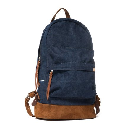 Maple Nomad Daypack (Selvedge Denim One-Wash)