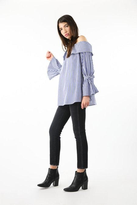 Collection Liz Blouse - Pin Stripe