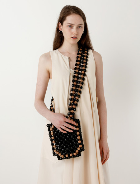 Lemaire Wood Beads Bag Small