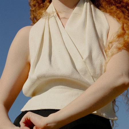 Nikki Chasin Gamble Halter Top - Ivory