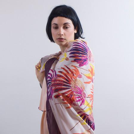 Anu Raina - consignment 'Echinacea Scarf'
