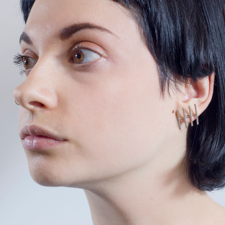 Alynne Lavigne 'Fence Earrings'
