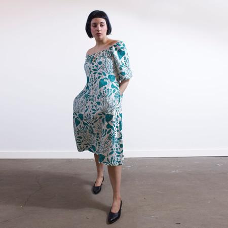 Sunja Link 'Gathered neck' dress