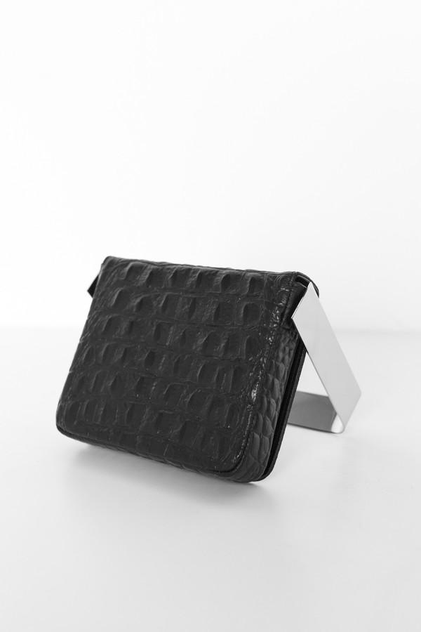 Persephoni Leather 14 Square Bag