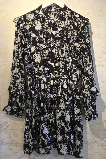 Dodo Bar Or 'Jagger' Long Sleeve Paisley Print Dress