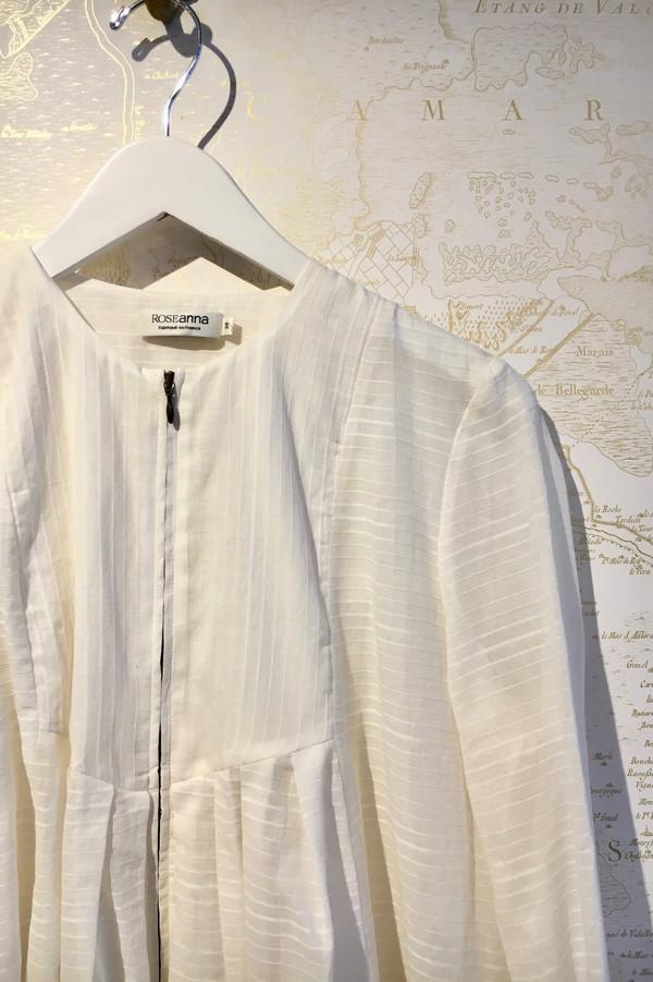 Roseanna Zip Front Windown Panel Cotton Jacket