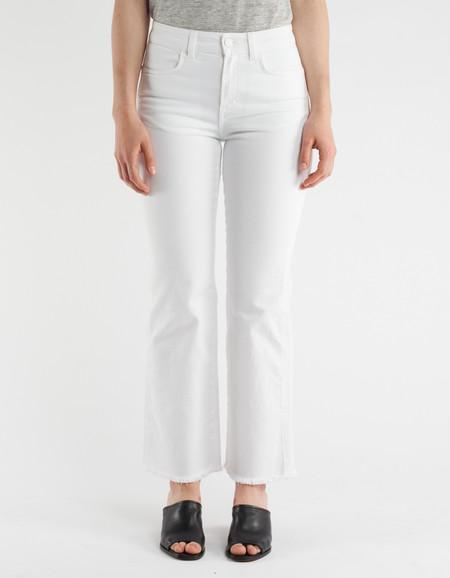 Filippa K Lily Cropped Jeans White Denim