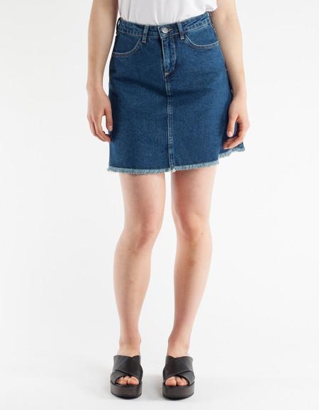 Just Female Tom Denim Skirt Blue Rinse