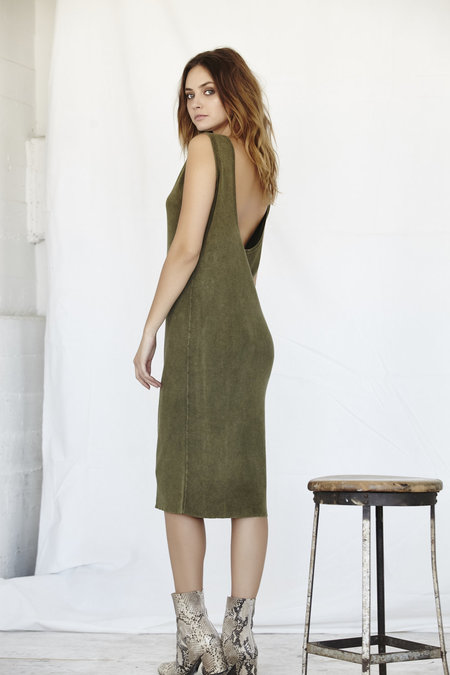 Callahan Enzyme Lowback Dress