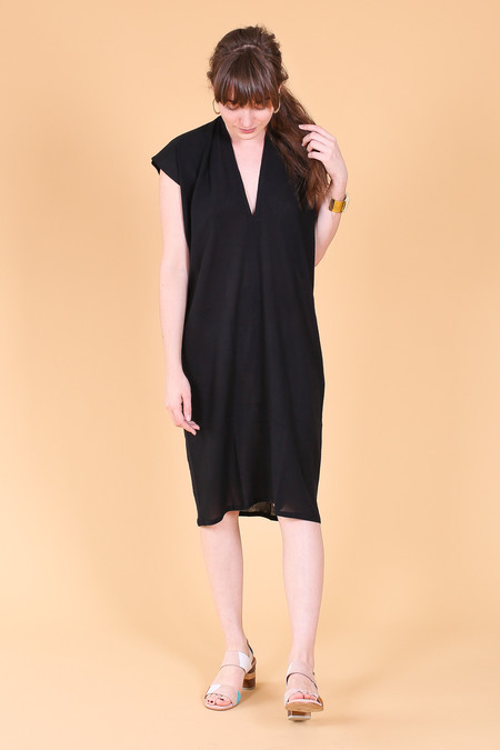 Miranda Bennett Everyday dress in black gauze