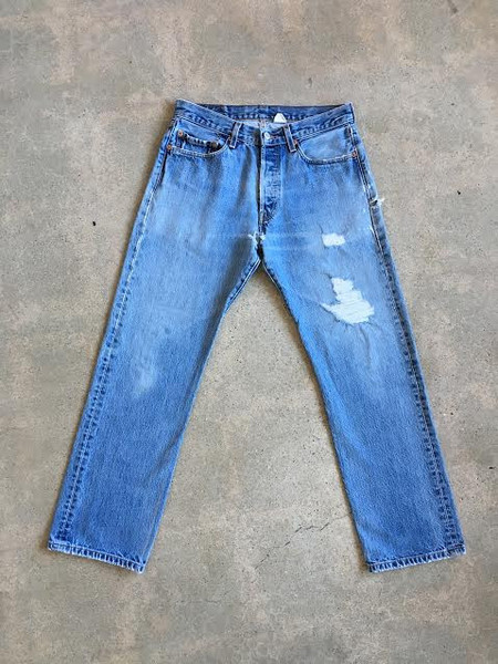 Levis Made & Crafted Medium Distressed Vintage Levi's 501