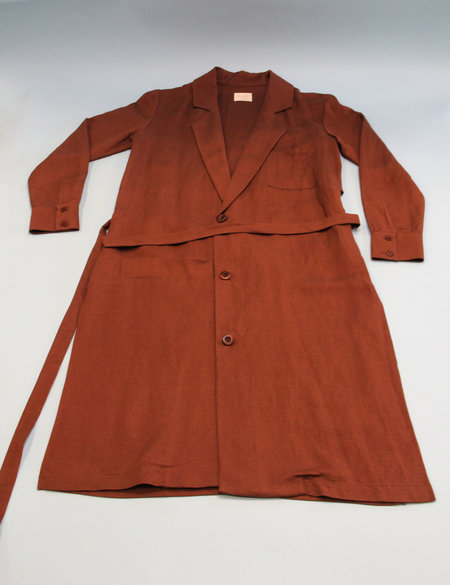 First Rite Belted Overcoat - Clay