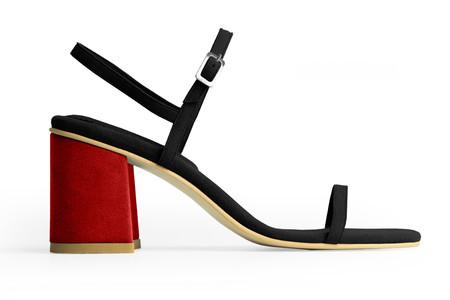 Rafa The Simple Sandal –Sloe/Ruby