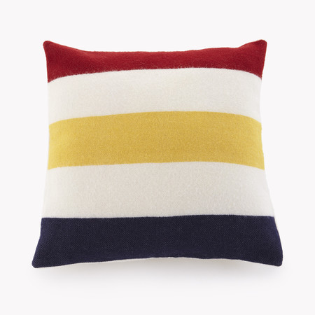 Faribault Revival Stripe Wool Pillow Case