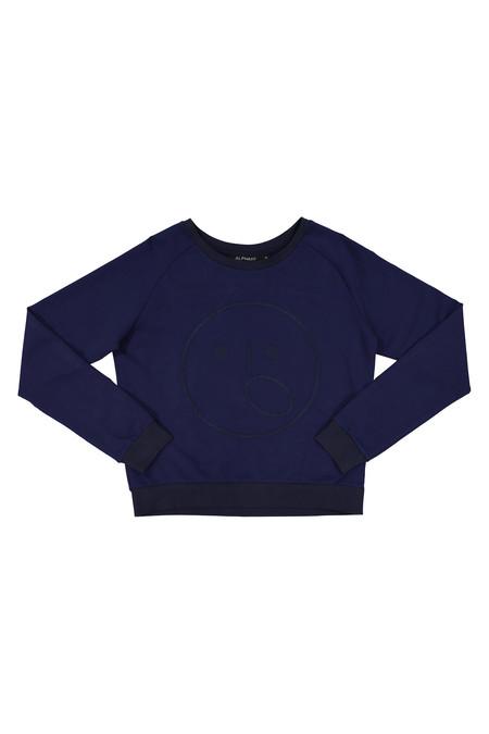 Alpha 60 Lotte Sweater in Navy