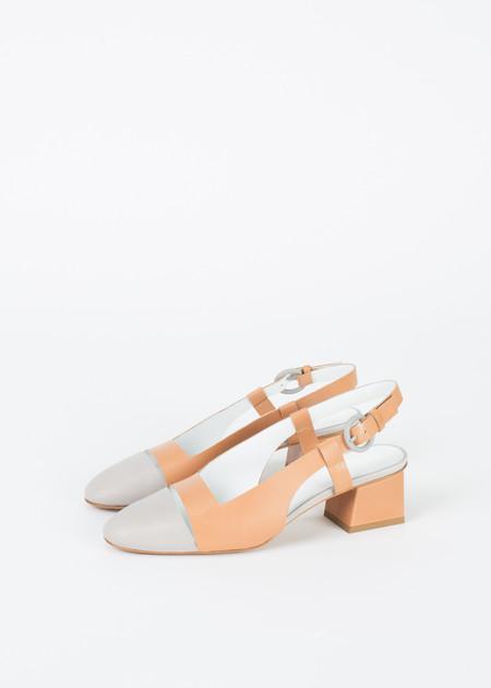 Gray Matters Mildred Slingback Block Heel