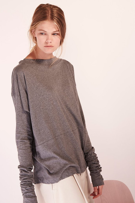 Kowtow Building Block Function Piece in Dark Grey Marle