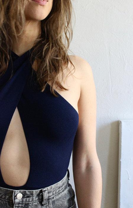 Paloma Wool Marta Bodysuit in Navy