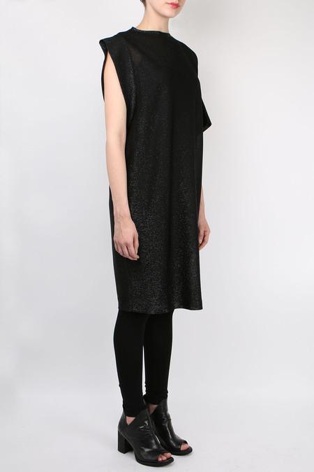 (nude) Lurex Jersey Dress