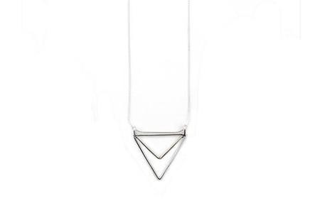 Isobell Designs – Zara Necklace Triangle
