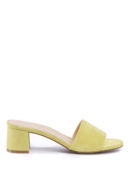 Marais USA Classic Mule - Yellow Suede