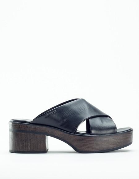 Vagabond Noor Platform Sandal Black