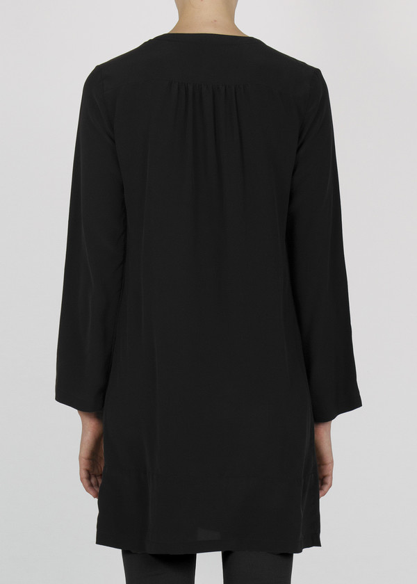 prior tunic - black