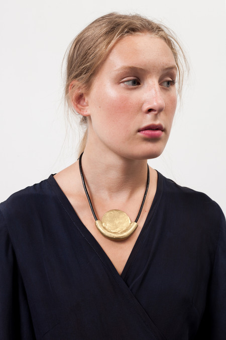 Osei-Duro Rising Sun Necklace