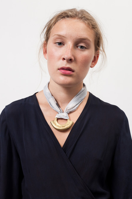 Osei-Duro Scarf Necklace