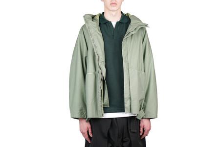 Purlicue Ripstop Jacket - Light Green