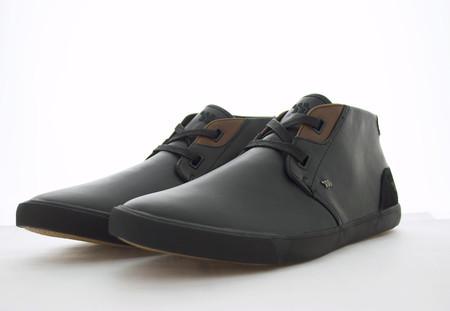 BOXFRESH SKELT - Black Leather